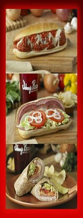 Johnny's Pizza: Subs/Wraps