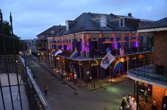 Bourbon Orleans Hotel: View of Bourbon from Balcony