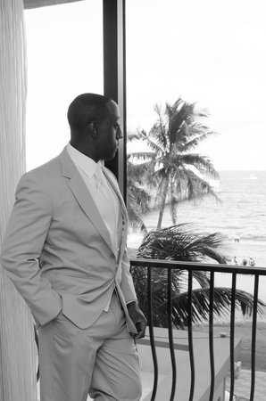 Wyndham Deerfield Beach Resort : The view for the groom