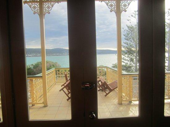 Grand Pacific Hotel Lorne : Lorne Hotel balcony