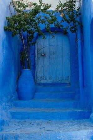 Altstadt von Chefchaouen: blue blue blue!