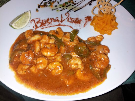 Bar Parrillada Buena Vista: Shrimp in sauce