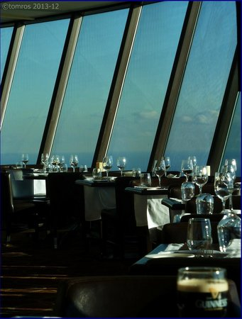360 The Restaurant at the CN Tower: If you think, that the restaurant is revolving, you had too much wine!