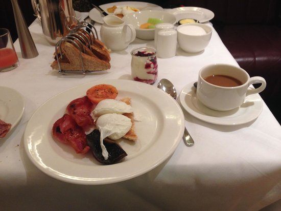 Brooks Hotel: Irish breakfast (half)