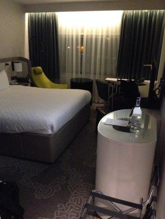 Hilton London Heathrow Airport: You definitely want a remodeled executive floor room