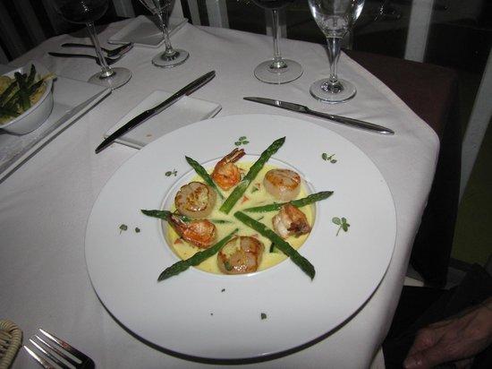 Ocean 82: Shrimp dish from specials menu