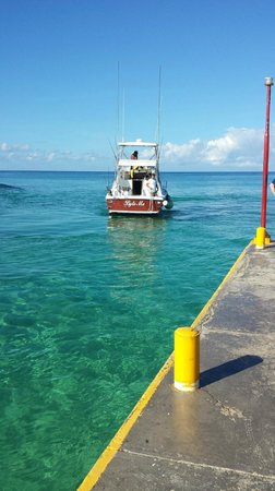 Byte me picture of cozumel charters cozumel tripadvisor for Cozumel fishing charters
