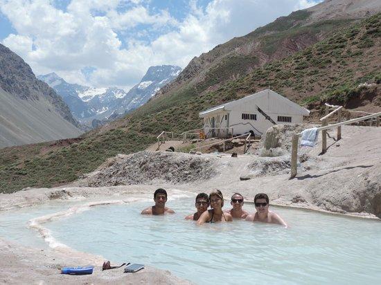 Santiago, Chile: Baños Colina Hot Springs