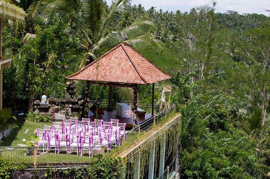 Villa Selat : Ceremony setup