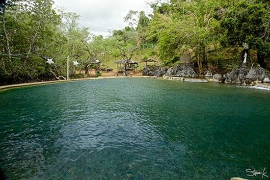 El Rio y Mar Resort: Coron Tour: Maquinit hot springs.