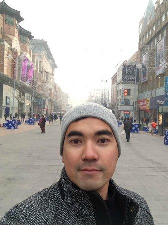 Wangfujing Street: At WangFujing Road, Beijing