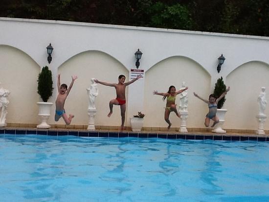 Himmelblau Palace Hotel: piscina