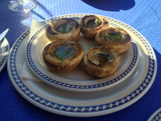 Restaurante Pacomari: Champignons