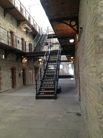 Cork City Gaol Open Wing