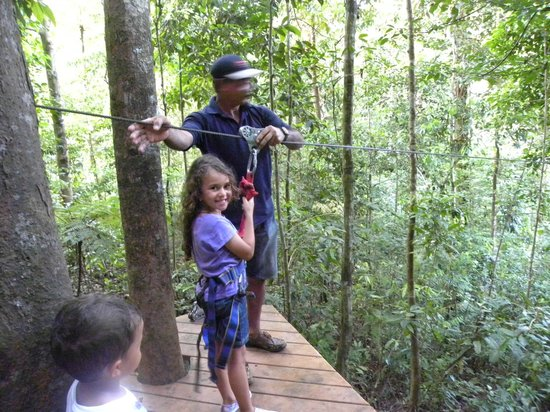Bosque del Cabo Rainforest Lodge: Zipline and Rappel