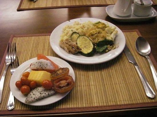 Swiss Lodge : Breakfast
