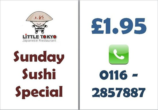 Little Tokyo: Best sushi and best offer in town - do not miss :-)