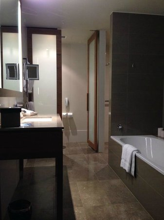 Hilton Melbourne South Wharf : bath room