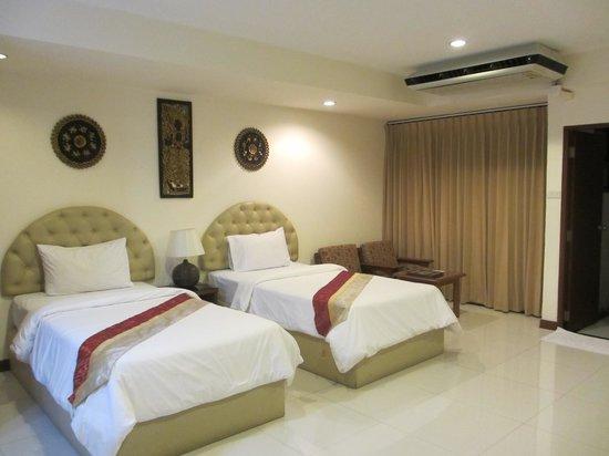 True Siam Phayathai Hotel : ツイン