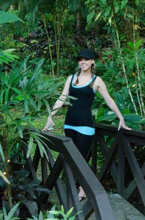 Park Eden Bed & Beakfast : my best friend on the bridge