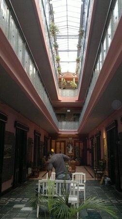 Gran Hotel Hispano: zona de lectura/recreacion