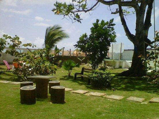 Dream Island Spa: zona verde, jardin del spa