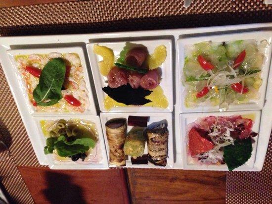 Gastronomia El Buzo: Fiesta de carpaccios