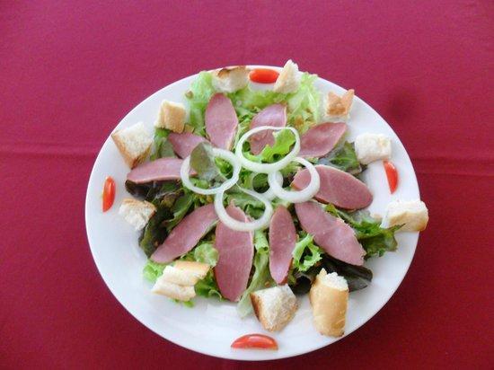 Restaurant La Croisette: Landaise  Salad