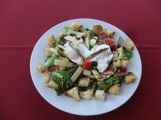 Restaurant La Croisette: Choice of salad