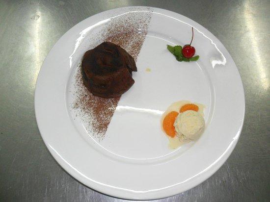 Restaurant La  Croisette (Phuket Rawai) : Délicieux Fondant au Chocolat