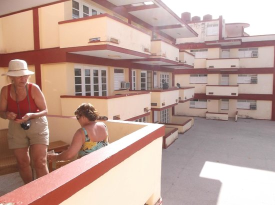 Islazul Terrazas Las Aparthotel View From Second Bedroom Next Door Apt And Courtyard