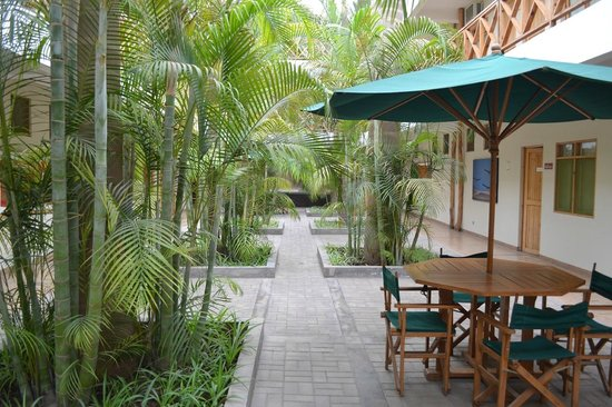 Casa Andina Standard Nasca: Patio