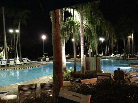 Marriott's Cypress Harbour: outdoor pool