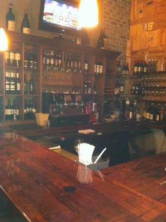 Antica Trattoria : The Bar Area