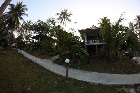 S-Beach Resort: einzelbungalow