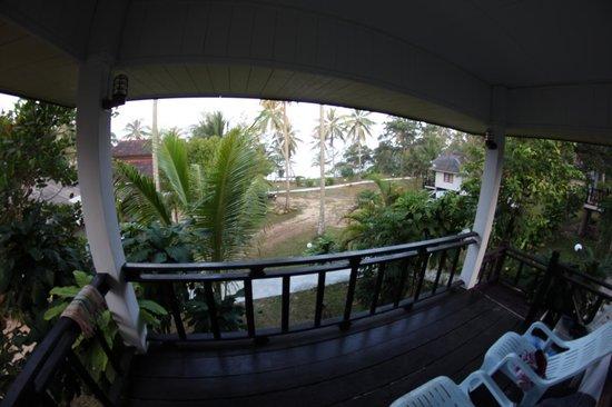 S-Beach Resort: Ausblick von Bungalow 21