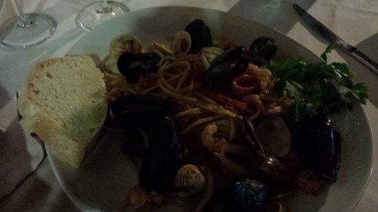 Terramia : Wonderful seafood linguine