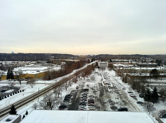 Doubletree by Hilton Bloomington - Minneapolis South: View from our room