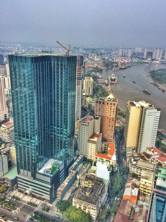 Bitexco Financial Tower - Saigon Skydeck: View from skydeck