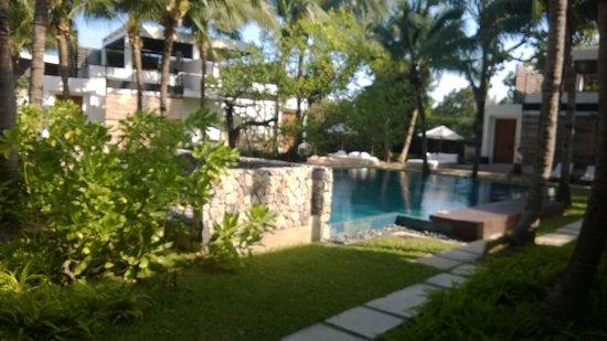 Putahracsa Hua Hin: View outside of the villa