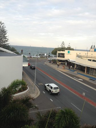 Raffles Mooloolaba: Patio view