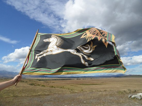 Lord of the Rings Twizel Tour: Rohan Flag