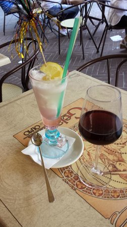 Caffetteria Gelateria dell'Olmo: Our drinks - both delicious