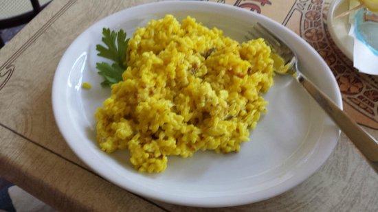 Caffetteria Gelateria dell'Olmo: Wonderful saffron risotto