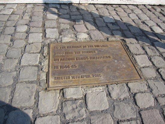 Promenade des Chaussures sur le Danube : Het verhaal