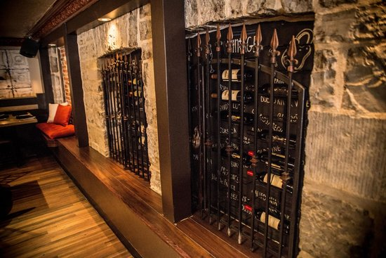 """Tango Nuevo Tapas & Wine : Select one of our vintages from """"the cage"""""""