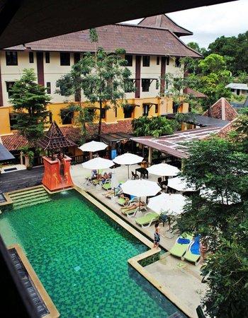 Phulin Resort : Вид с балкона