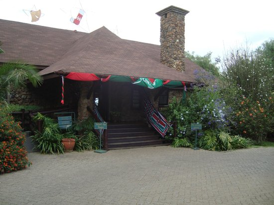 Great Rift Valley Lodge & Golf Resort: Lodge reception