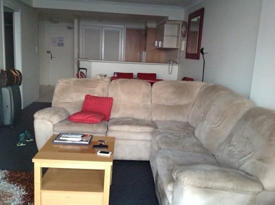 Bel Air on Broadbeach: living room