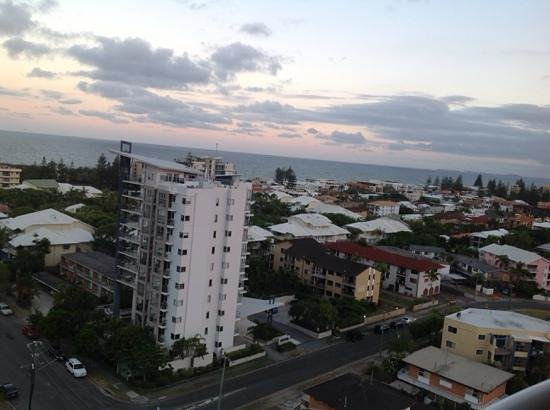 Bel Air on Broadbeach: our 13th floor view